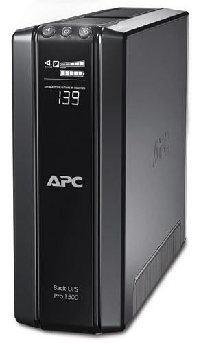 APC Back-UPS Pro 1500GI Front View