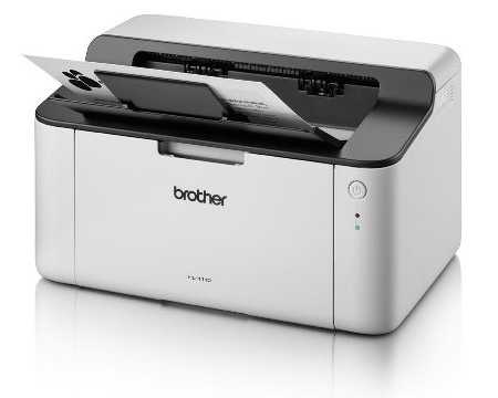 Brother HL-1110 Compact Monochrome Laser Printer / 20 ppm / 2400
