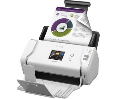 Brother ADS-2700W Wireless A4 Color Document Scanner - 35ppm