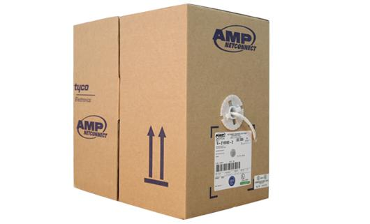 AMP UTP Cable CAT 5E, CMR Rate (350 MHz)  305 M./Box