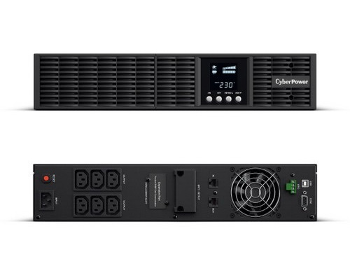 [OLS1000ERT2U] CyberPower 1000VA (900Watts) Online Double-Conver