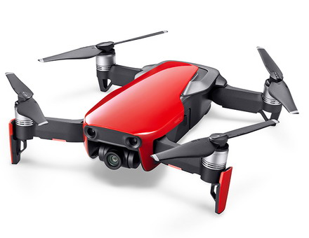 DJI Marvic Air Drone Fly More Combo Flame Red
