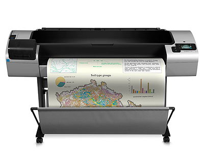 HP Designjet T1300 44-in PostScript ePrinter (CR652A) / Print sp