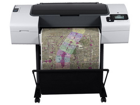 HP Designjet T790 24-in ePrinter (CR647A) / Print speed color 72