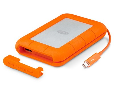 LaCie Rugged 1TB (STEV1000400) Thunderbolt & USB 3.0