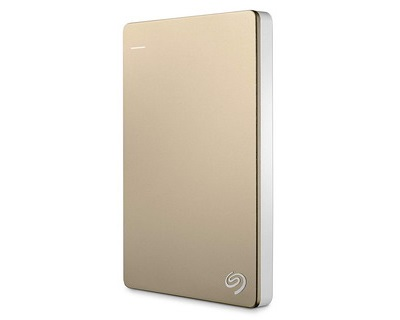 Seagate Backup Plus Slim Gold