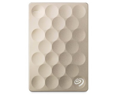 Seagate Backup Plus Ultra Slim Gold