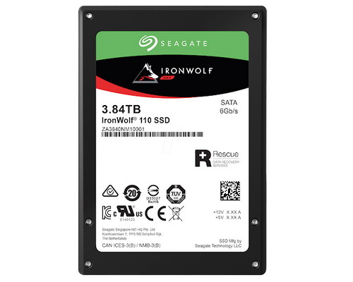 "[ZA3840NM10011] Seagate IronWolf 110 SSD for NAS 3.84TB 2.5"" SAT"