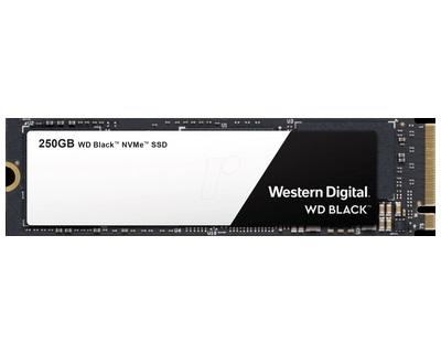 WD Black NVMe SSD 250GB