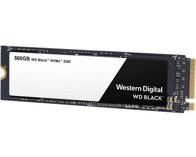 WD Black NVMe SSD 500GB