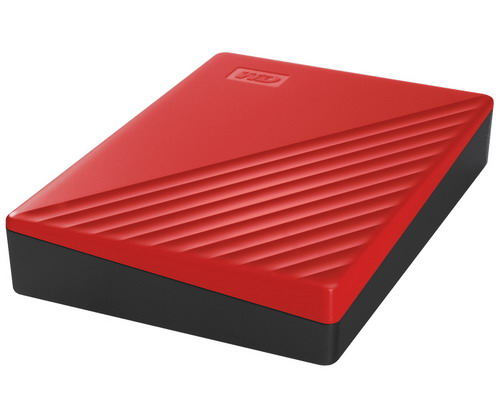 [WDBPKJ0040BRD] WD My Passport 4TB (Red) USB 3.2 Gen 1 Portable