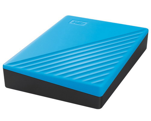 [WDBPKJ0040BBL] WD My Passport 4TB (Sky) USB 3.2 Gen 1 Portable