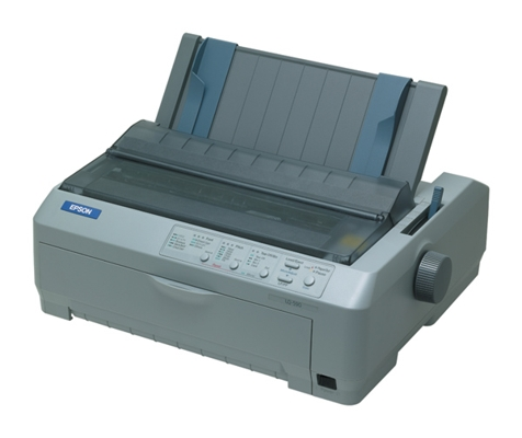 Epson LQ-590 Impact (dot matrix) Printer 24 Pin Narrow 80 column